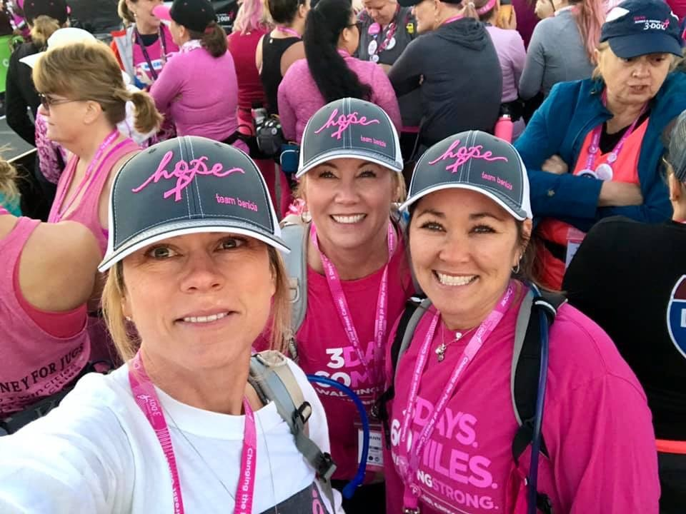 ANN DUNLEAVY and Race for the Cure