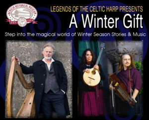 Legends of the Celtic Harp presents A WINTER GIFT at the Benicia Historical Museum @ Benicia Historical Museum - Charles P. Stone Hall | Benicia | California | United States