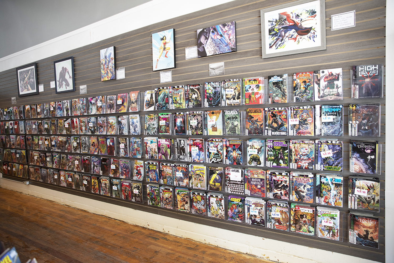 ZEPPELIN COMICS: New location, more room