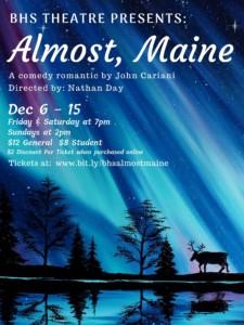 Benicia High School Theatre Presents:  Almost, Maine @ Benicia High School   Benicia   California   United States