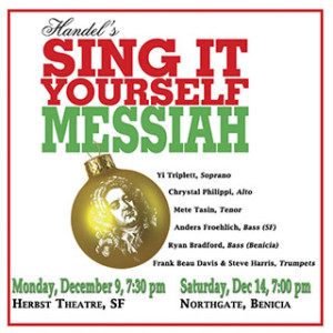 Handel's Sing it Yourself Messiah @ Northgate Christian Fellowship | Benicia | California | United States