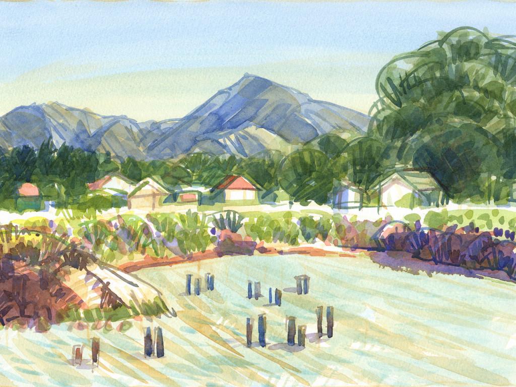 Painting of Mt. Diablo