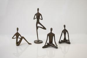 humanoid figurines