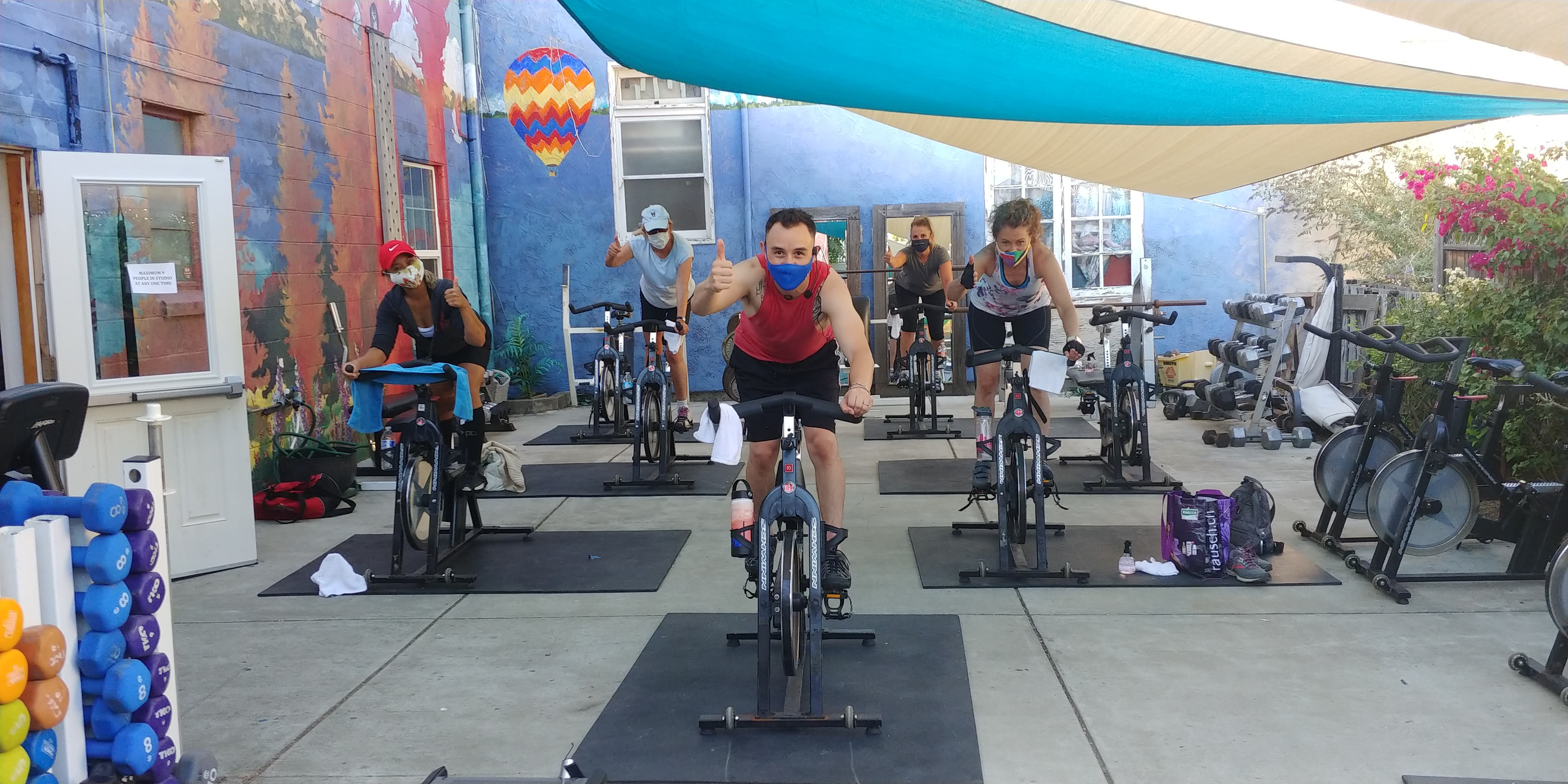 Benicia Gyms – Working it out