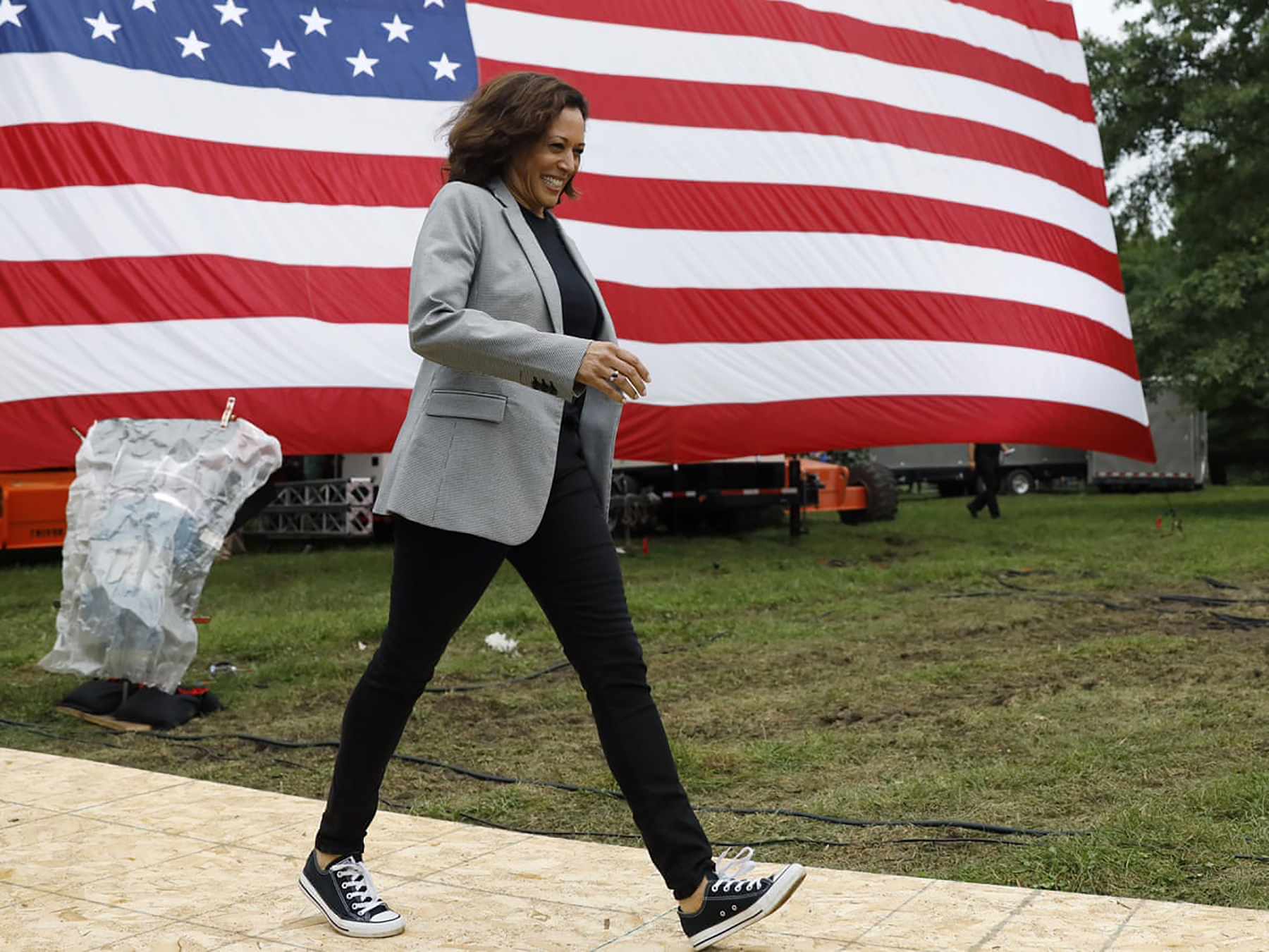 Kamala Harris: Vice President with Style