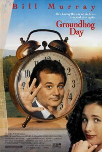 Groundhog Day movie cover art