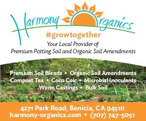 Harmony Organics Advertisement