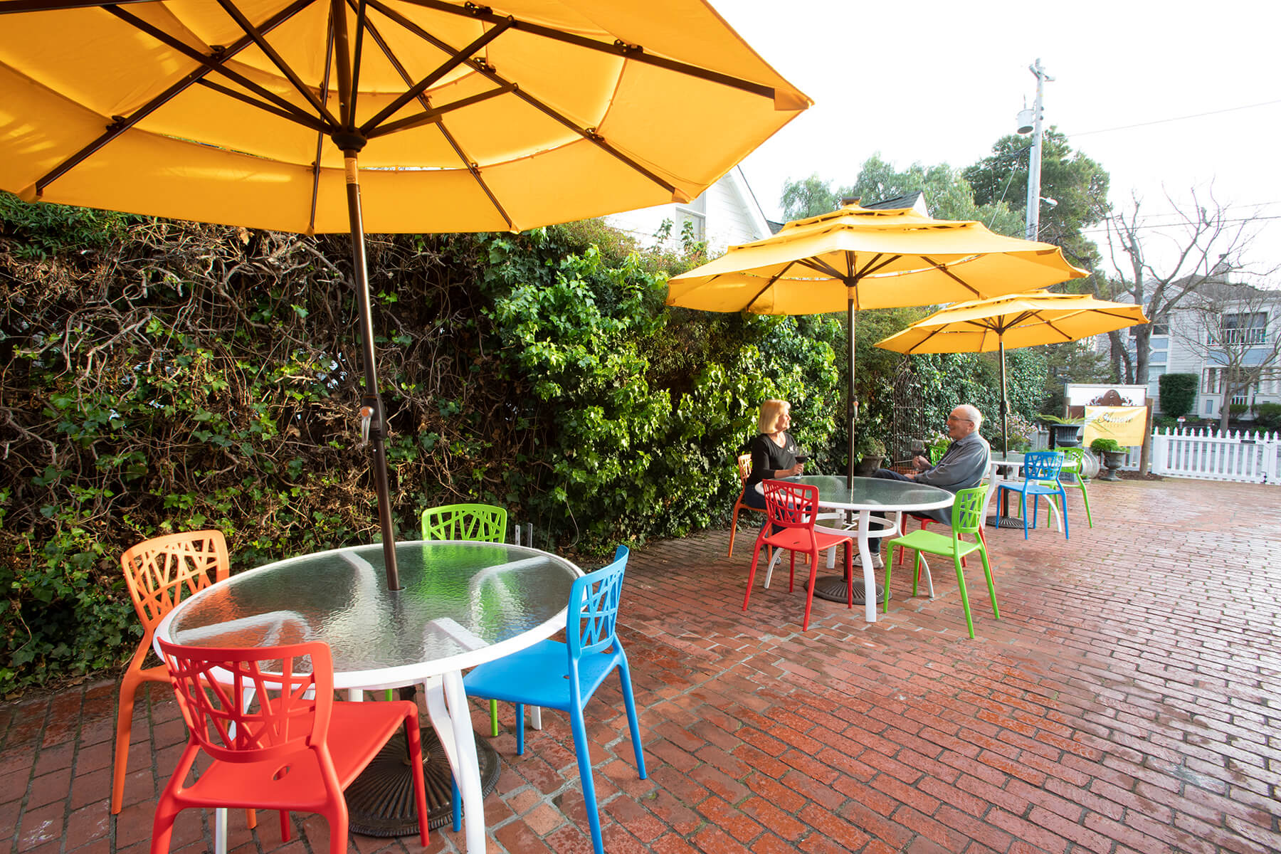 Patio at Amore Bistrot