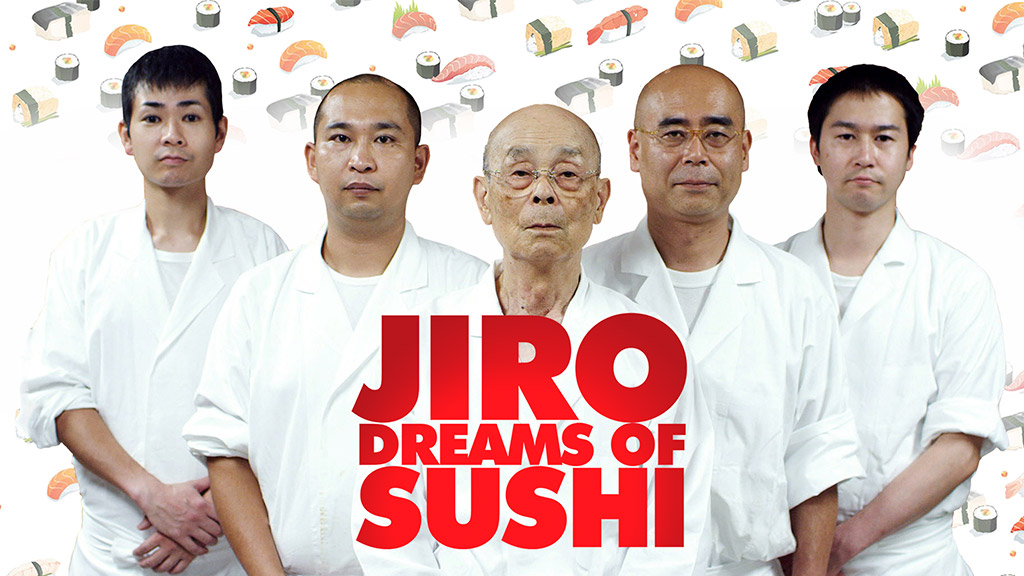 Jiro Dreams of Sushi Documentary title image