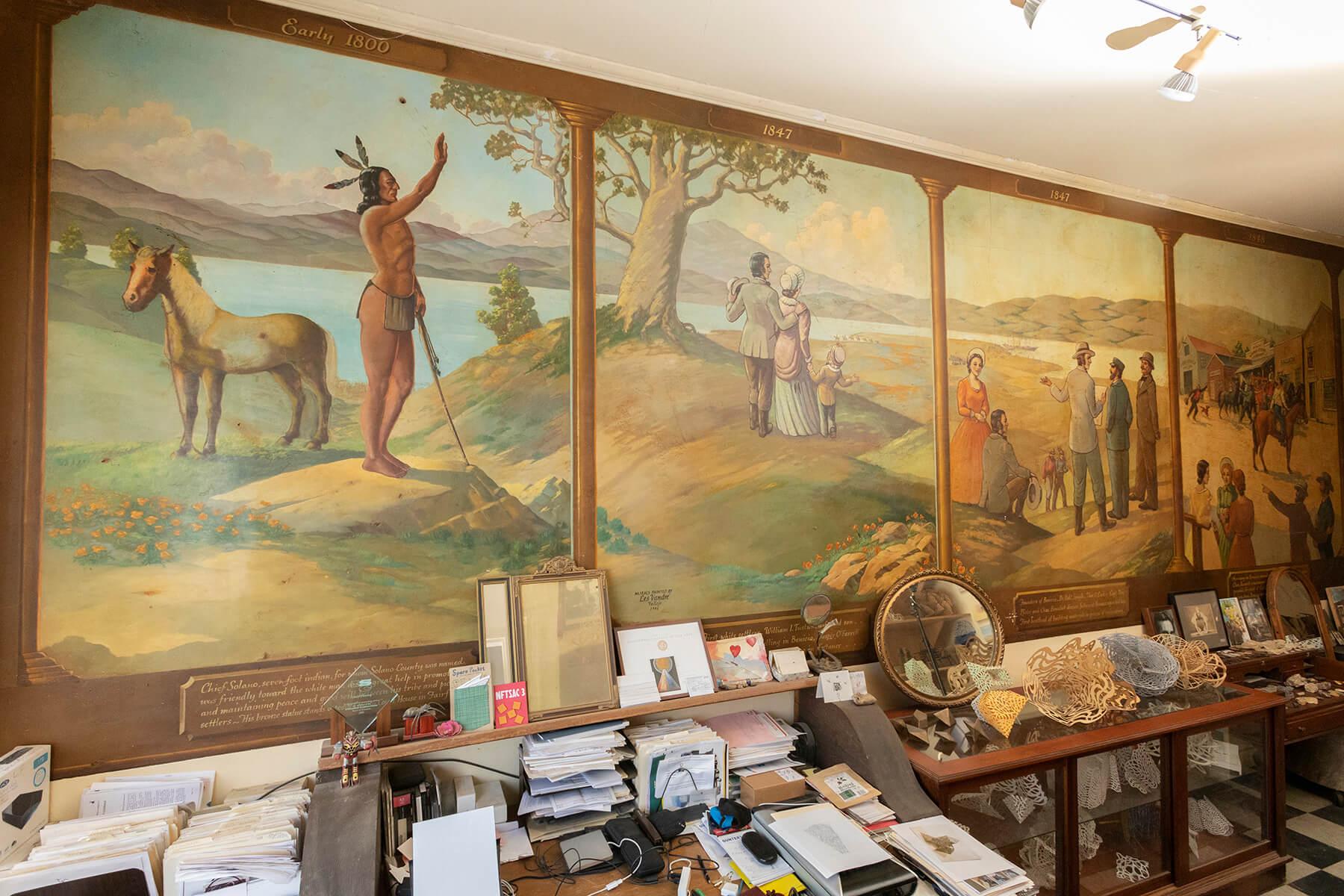 Benicia Historic Mural 1