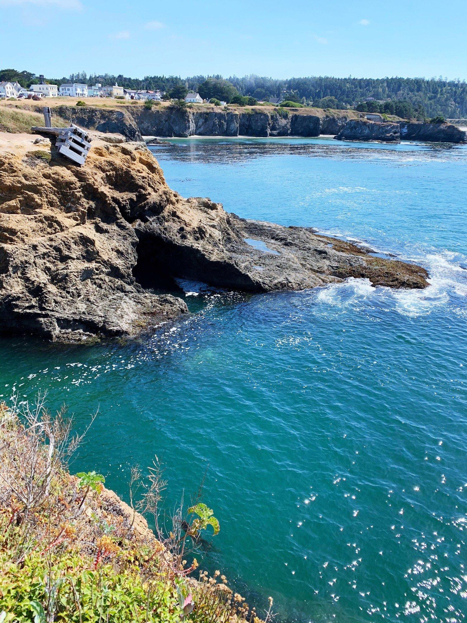Mendocino Headlands, coastline