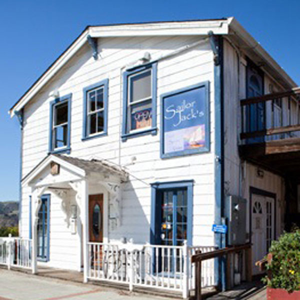 Sailor Jack's, front of building