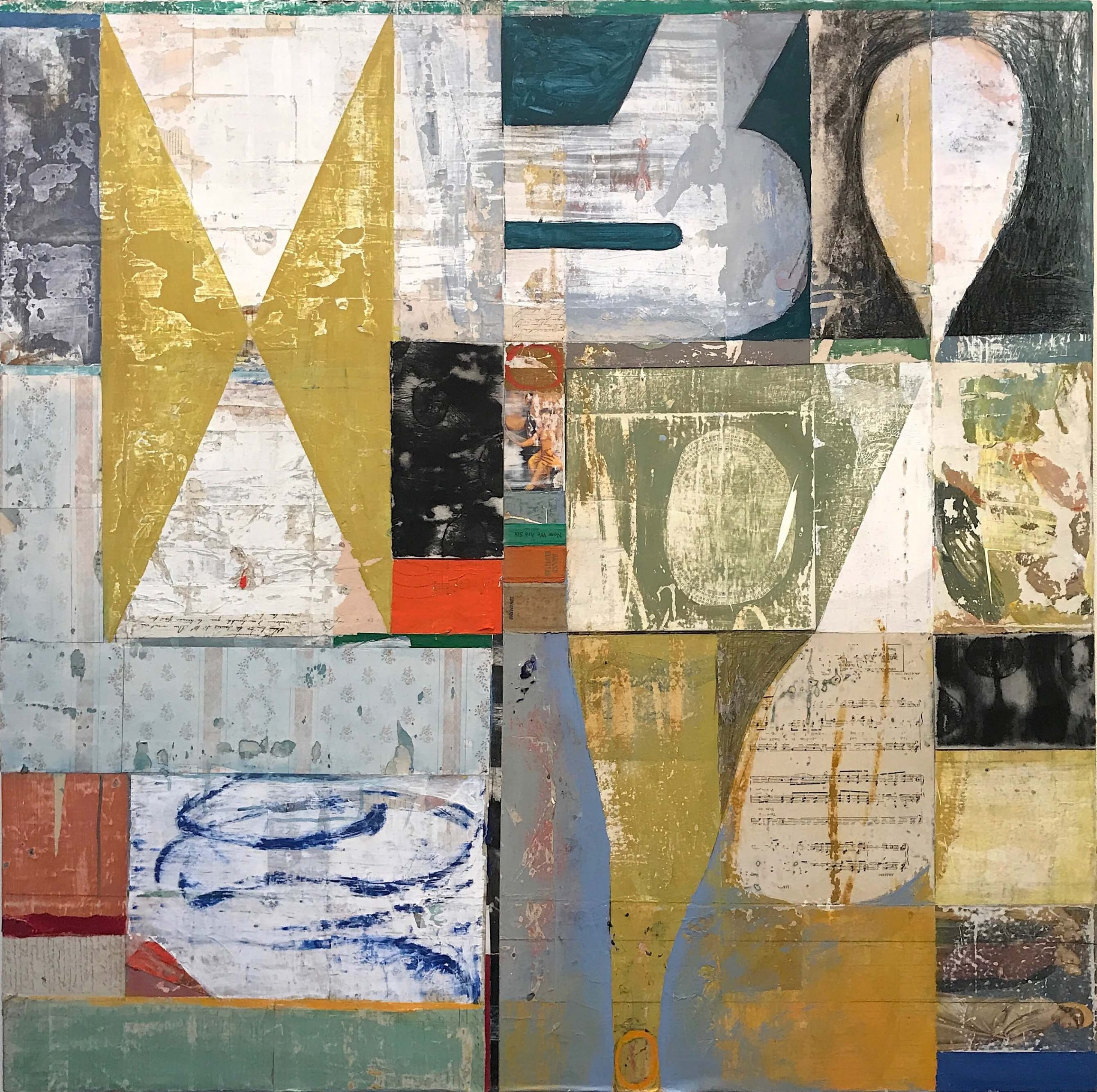 Eanes - Hourglass 2018,48x48in. (1)