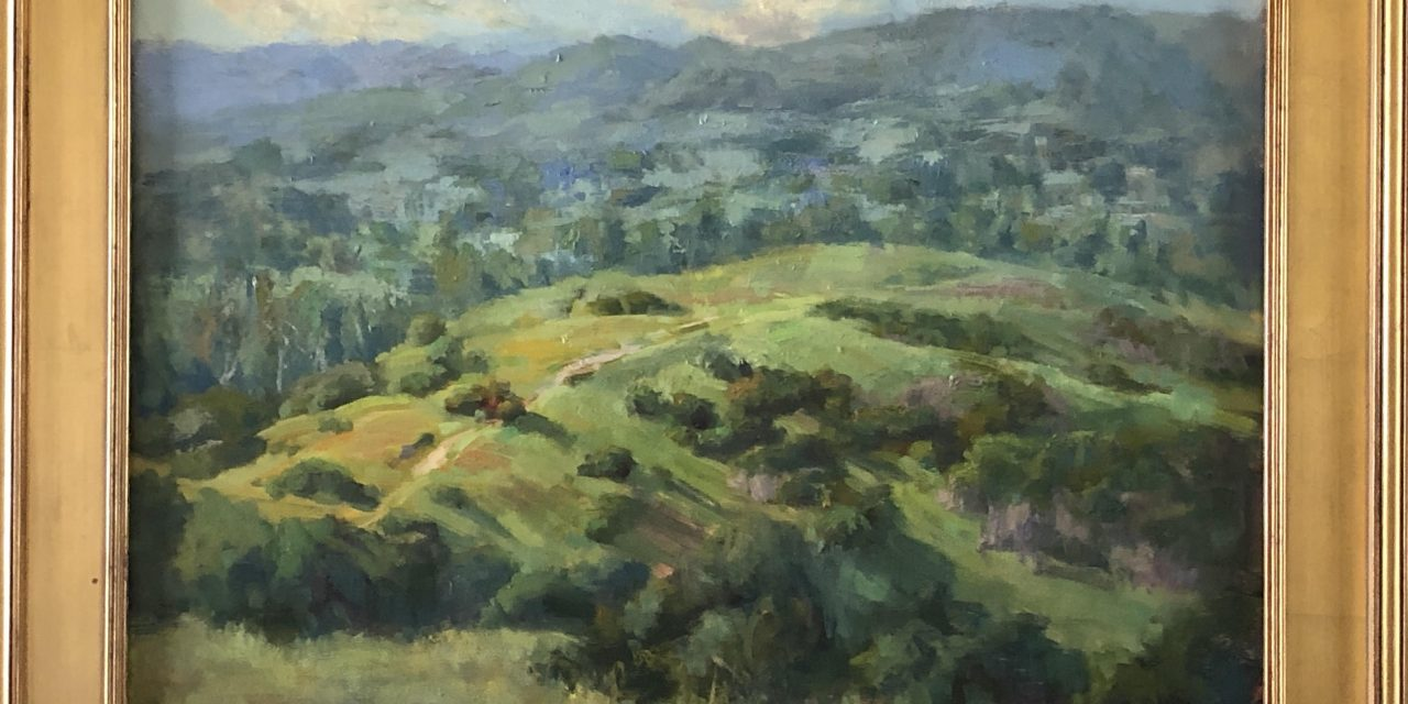 Benicia Plein Air Gallery Features Artist Karen Leoni during August