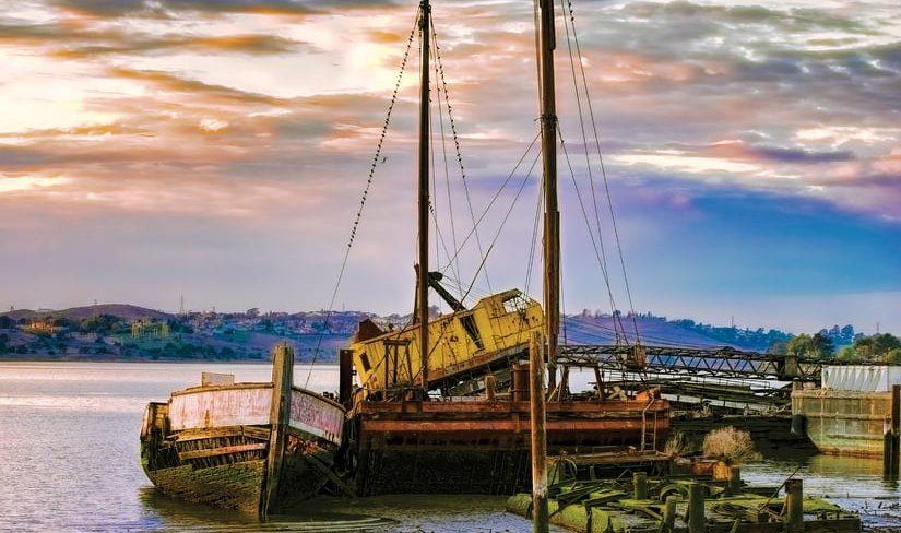 Benicia shipyard art walk image