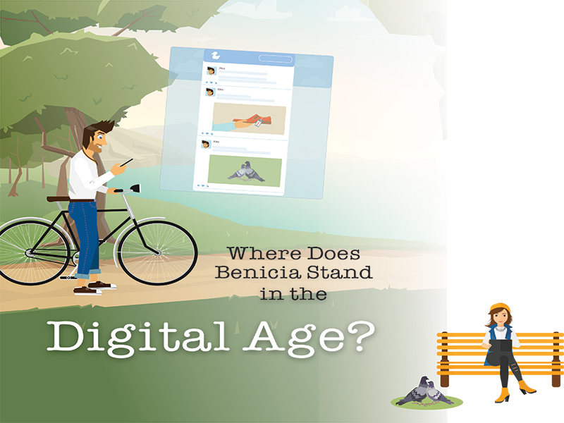 Benicia's Social Media Presence & Online Resources