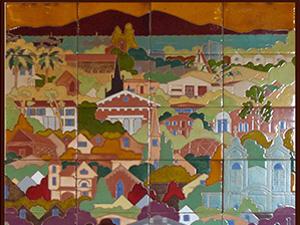 Granizo Tile Murals at Benicia Historical Museum
