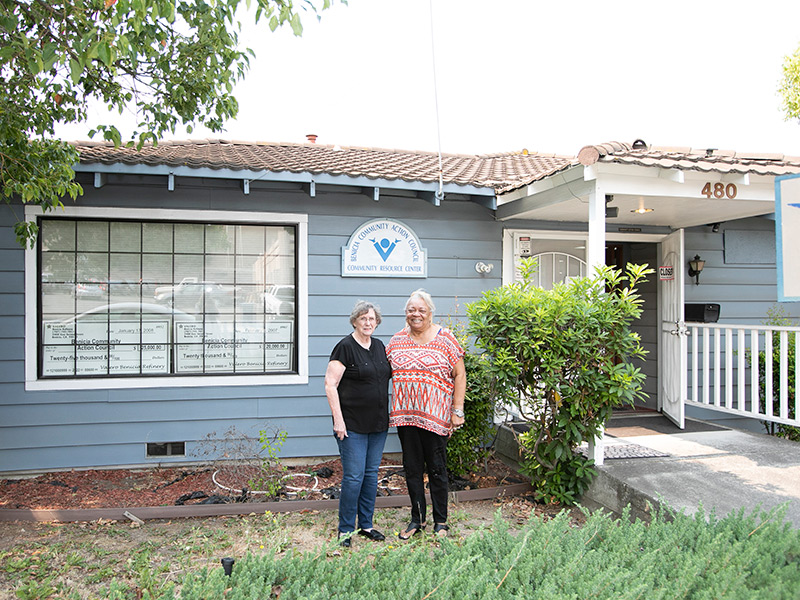Benicia Community Action Council Pays Off Its Mortgage With A Little Help From Friends