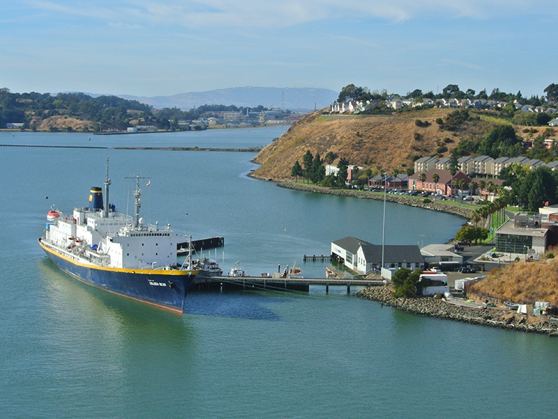 Beauty, Trails, Wildflowers & Intriguing History Along The Carquinez Strait
