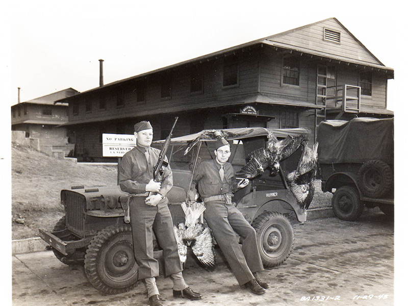 Backwards Glance: Hawk-thinning At The Benicia Arsenal, 1943