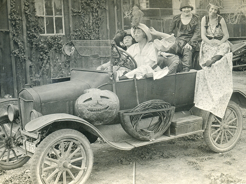 A Bevy Of 1924 Beauties Celebrate A Benicia Halloween