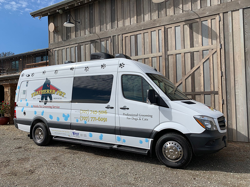 Featherer Pet Mobile Grooming Service Provides Care, Comfort & Convenience