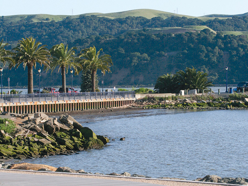 Recent Extension To Benicia's Waterfront Path