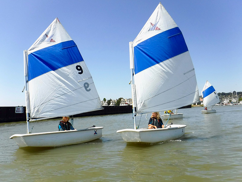 Benicia Yacht Club Offers Young Sailors Training & Certification
