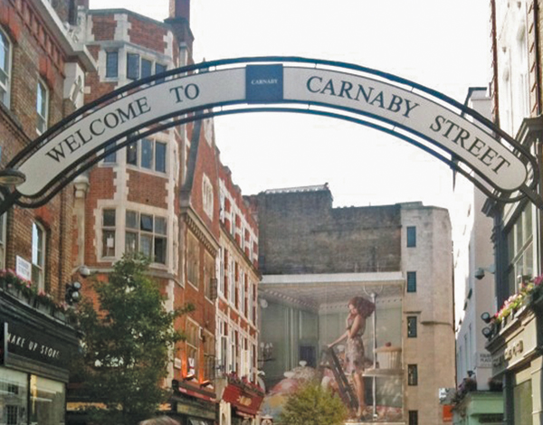 London's Carnaby Street Fifty Years Later