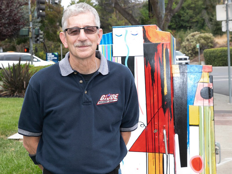 Terry Scott, Chair Of The BACC, Helps Identify & Implement Public Art Projects