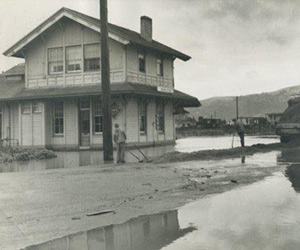 Backwards Glance: Flooding At The Waterfront In 1950