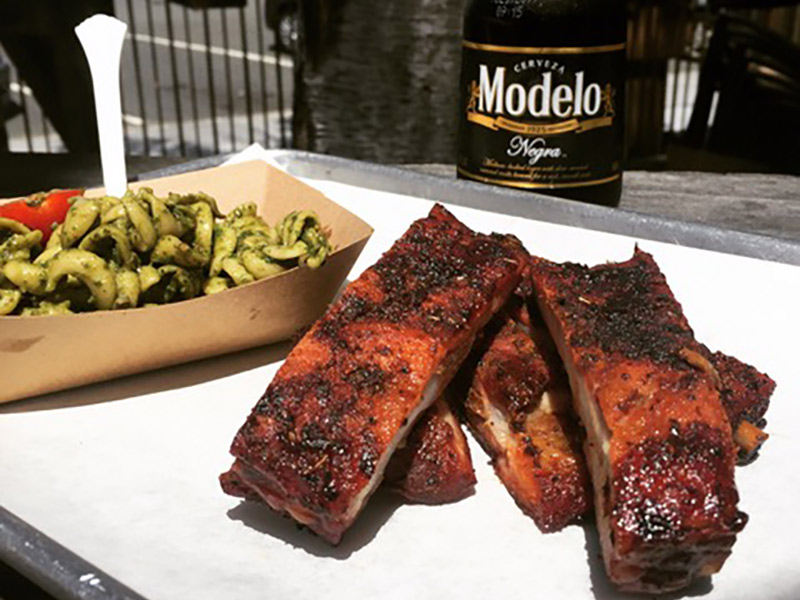 Summer Food At Crossroads Smokehouse & Deli, Where Barbecue & Napa Style Meet