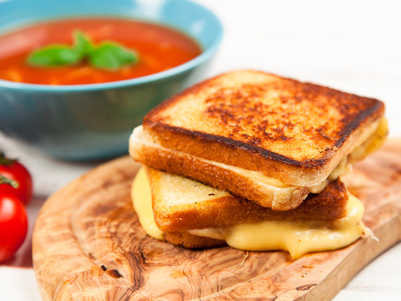 The Humble Grilled Cheese Makes For A Perfect Fall Comfort Meal