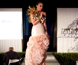Fashionista: Elegant Designer Gown, Made Of Paper, To Benefit Benicia State Parks