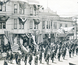 Backwards Glance: Independence Day Parade 1917