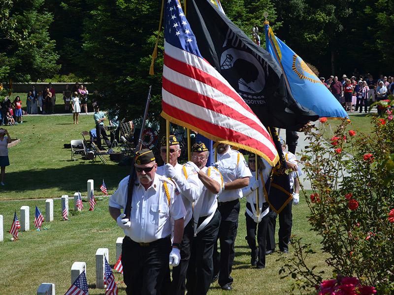Patriotic Memorial Day Service At Benicia Post Arsenal Cemetary