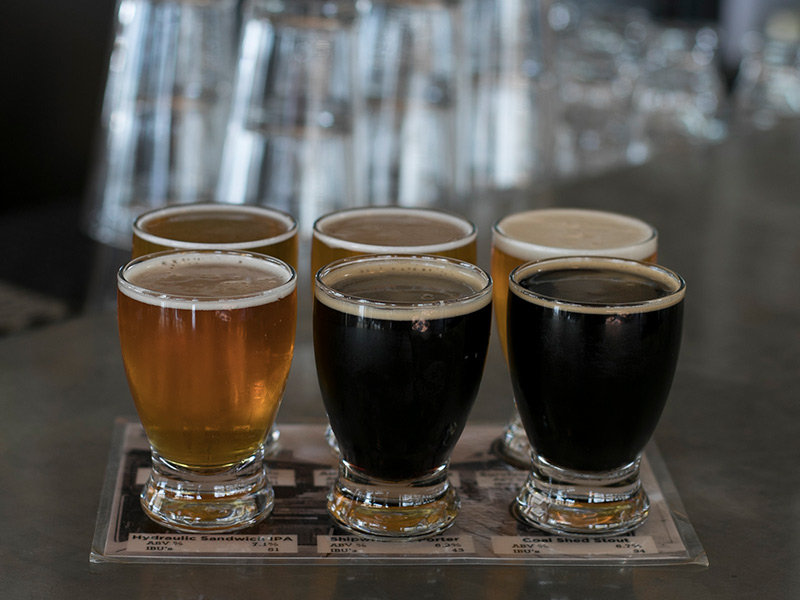 Sample Hearty Pub Grub With Craft Brews On Tap