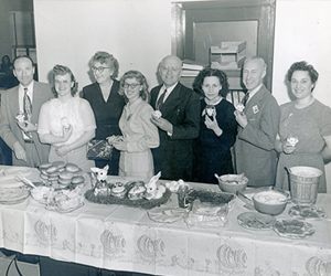 An Easter Luncheon At The Arsenal Officers' Club Circa 1953