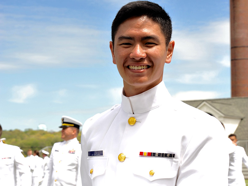 BHS Alum Vincent Lee Graduates From The Coast Guard Academy