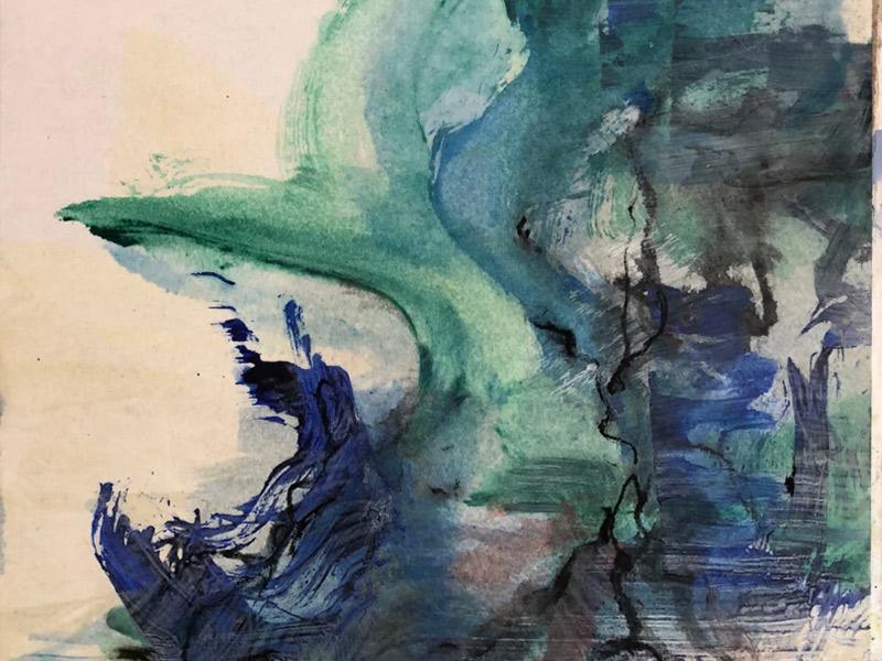 Vision & Harmony Meet In Ken Cook's Paintings At Gallery 621