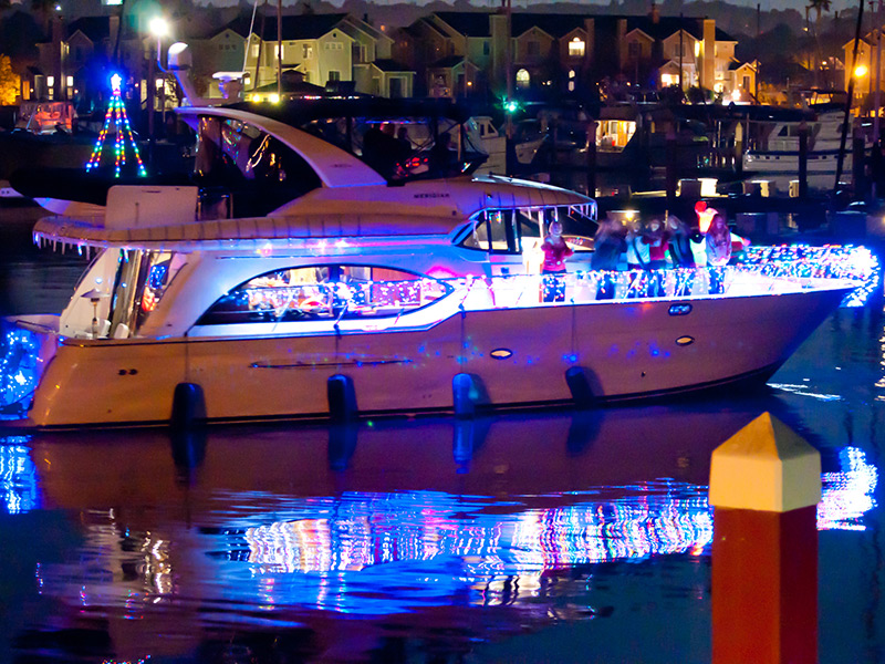 Decorated Boats Dazzling With Light Return To Benicia's Waterfront