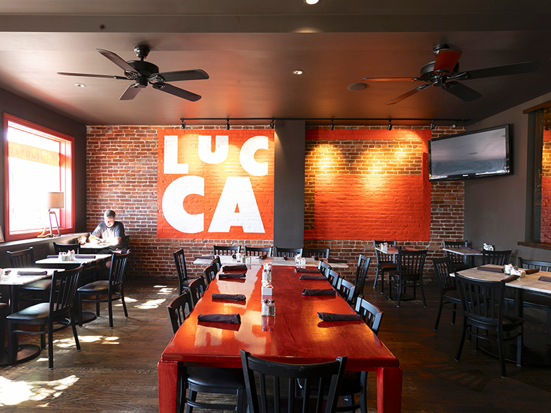 Shared Plates & Impossibly Good Burgers At Lucca Bar & Grill