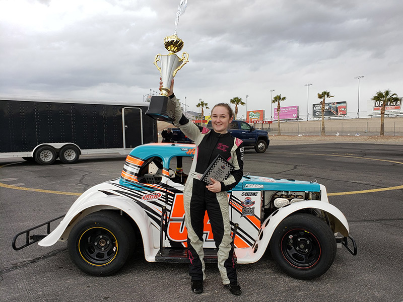 Auto-racing Veteran Heather Hadley A Champ At Age 17