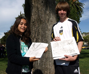Benicia Middle School Students Win iPads
