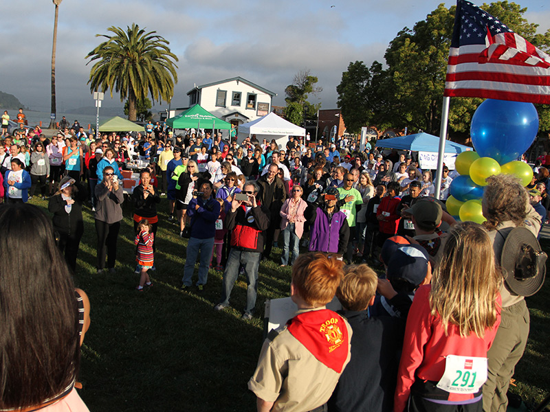 Eighth Annual Footrace At The Water's Edge
