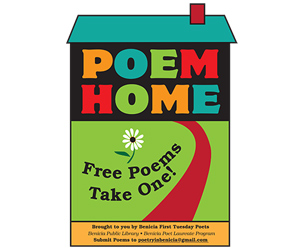Take A Poem, Leave A Poem At Benicia's Poem Homes