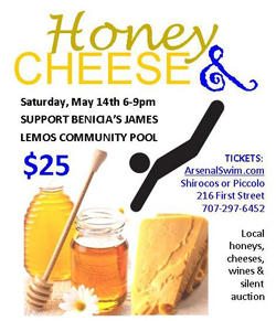 Benicia Businesses Team Up for 2nd Annual Honey & Cheese Pairing Evening