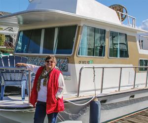 Interview: Susan Street, Houseboat Renovator