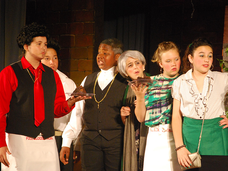 Benicia Students Offer Up Big Drama And Laughs At Mystery Dinner Theater