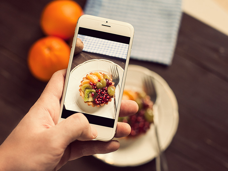 Going Nuts With Food Selfies Across Social Media